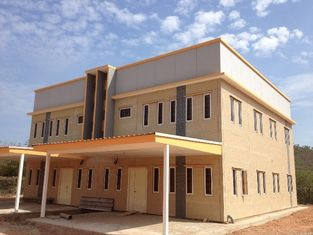 China USA exported light steel frame prefabricated house,earthquake proof, cyclone proof Prefab house technology supplier