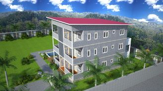 China Prefabricated Apartment Buildings / Living Or Office Supply Buildings supplier