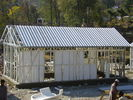 China Yellow Modular Homes / Light Steel Frame Prefab House Kits For Living factory