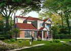 Prefabricated Light Gauge Steel Structure Villa , Steel Prefabricated Houses